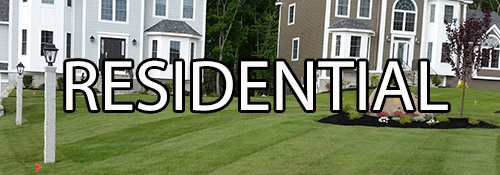 Residential lawn maintenance in Pelham NH and Dracut MA